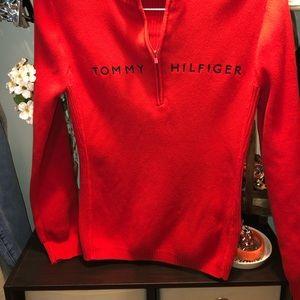 Tommy Hilfiger Sweaters - Vintage Tommy Hilfiger Half Zip Size M